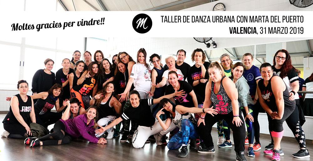Danza Urbana Valencia Marzo